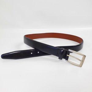 Jos A Banks black leather belt size 32